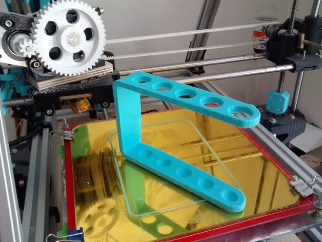 定制化牙刷架 3D打印模型渲染图