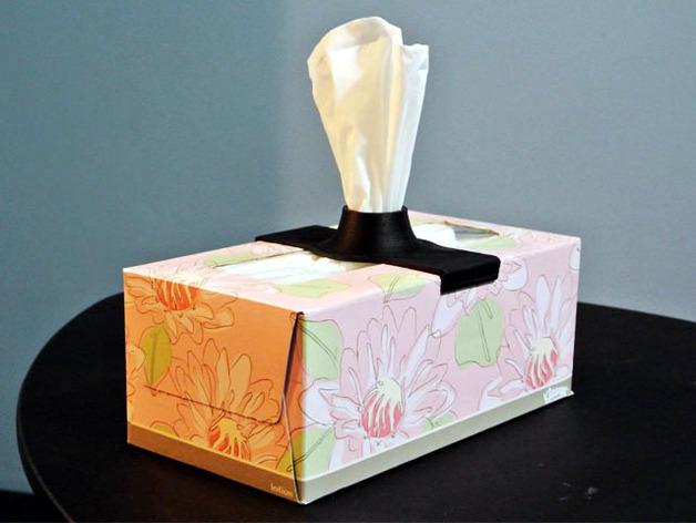 纸巾架 3D打印模型渲染图