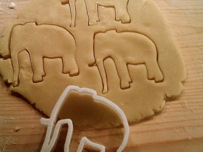 创造性的饼干模具切割刀