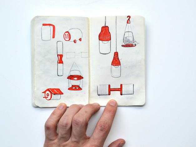 梅森玻璃罐制作的电灯