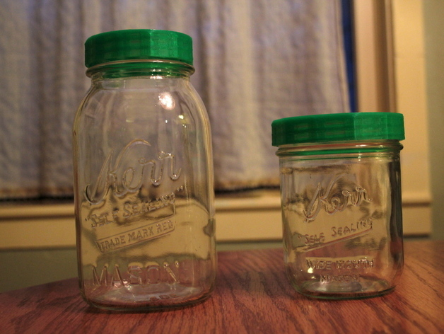 罐头瓶盖子 3D打印模型渲染图