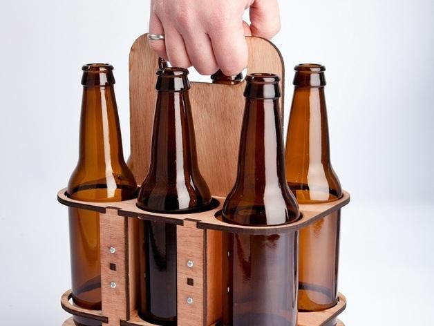 玻璃瓶装饮料打包机