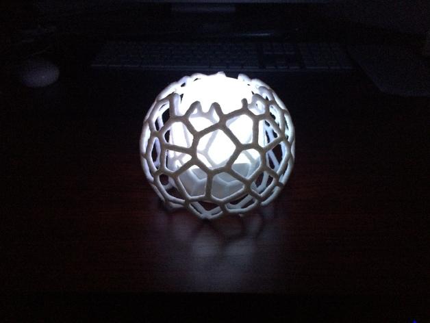 蜂巢形灯罩