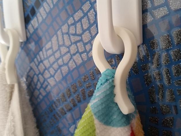 毛巾夹/纸巾夹 3D打印模型渲染图