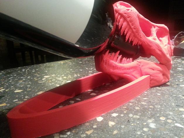恐龙形葡萄酒瓶支架