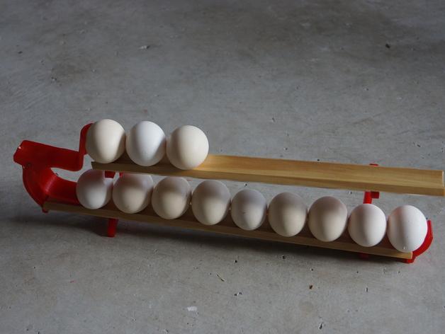 双层鸡蛋架