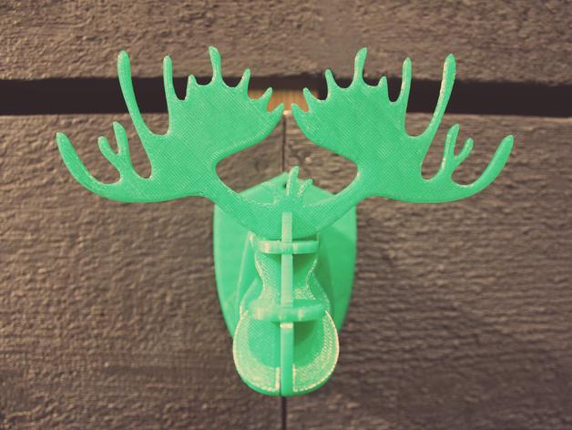麋鹿形纪念品