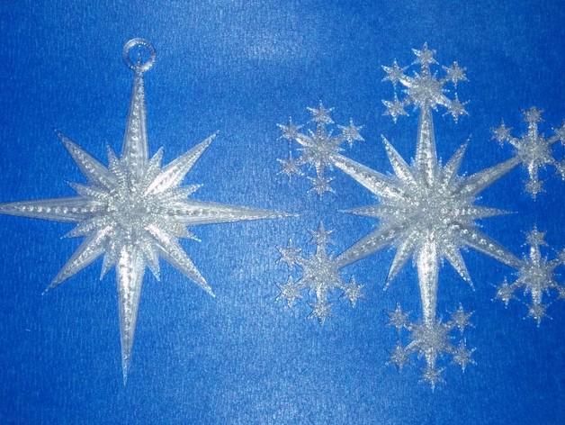 星形/雪花形装饰品