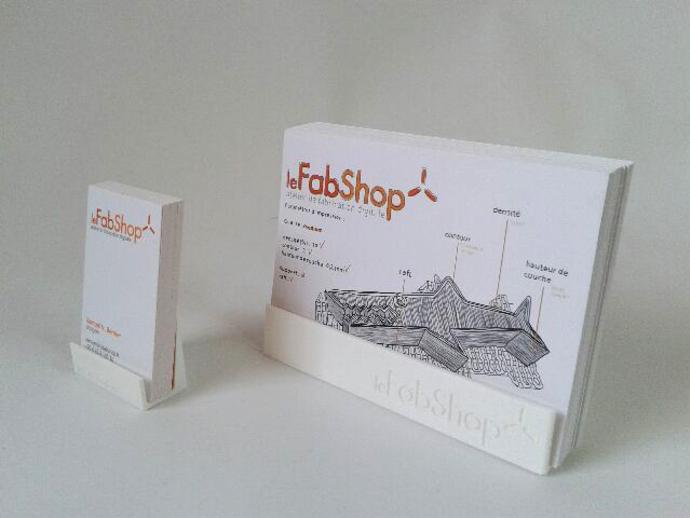 名片盒/传单夹 3D打印模型渲染图