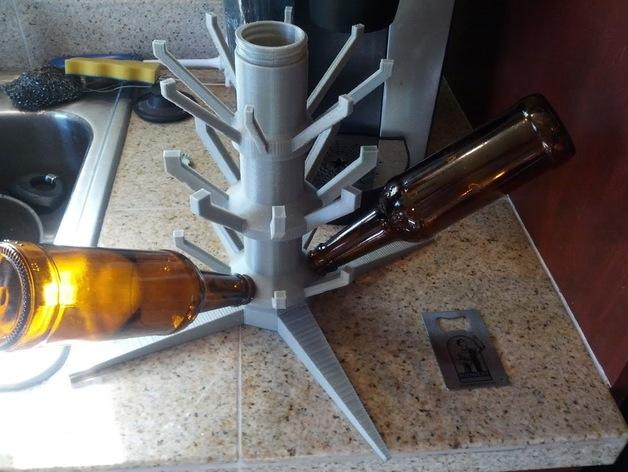 玻璃瓶晾干架