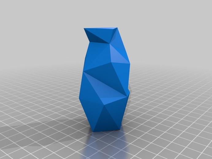 个性化波形曲线花瓶