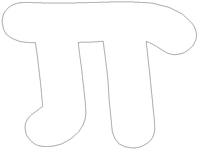 圆周率π饼干模具切割刀