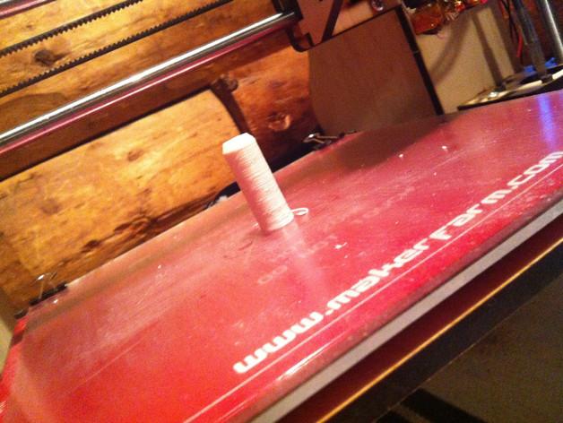 喷砂器喷嘴 3D打印模型渲染图