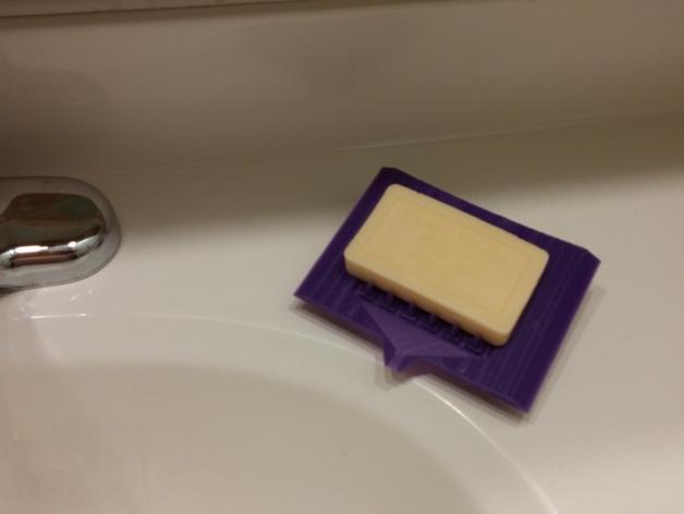 简易肥皂碟