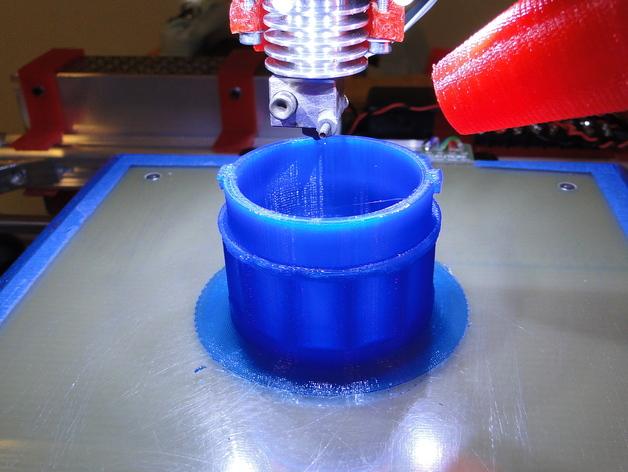 贝拉专业搅拌机盖 3D打印模型渲染图