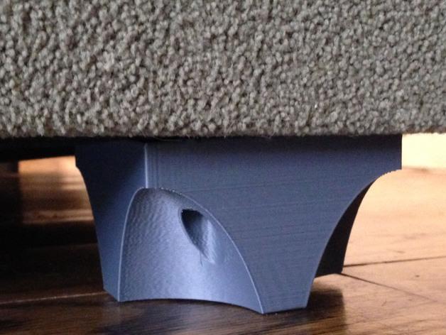 可自由组合沙发腿 3D打印模型渲染图