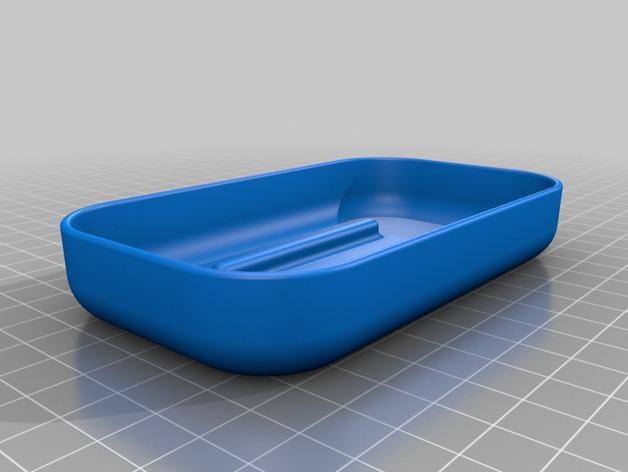 易清洗的肥皂盒