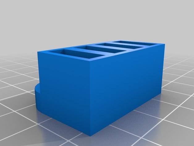 壁挂式USB盒