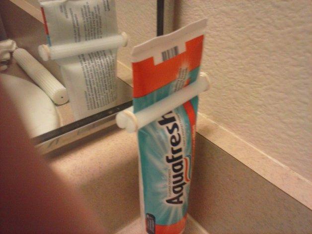 牙膏挤出装置 3D打印模型渲染图