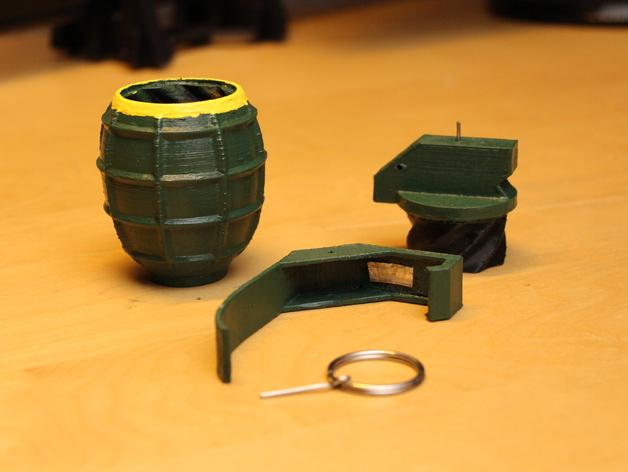 SHGR95手榴弹形容器