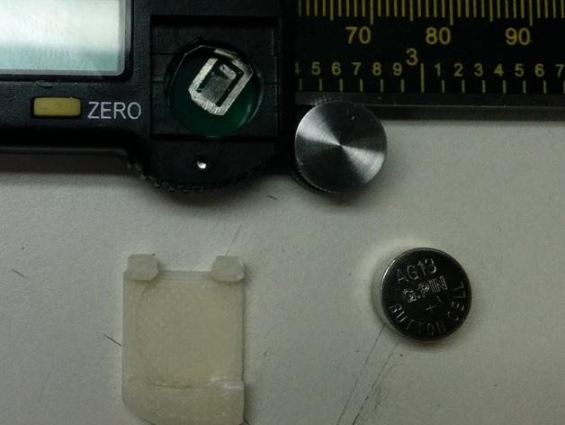 数字卡尺电池盖
