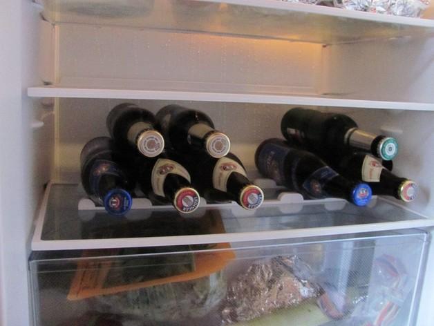 冰箱酒瓶架