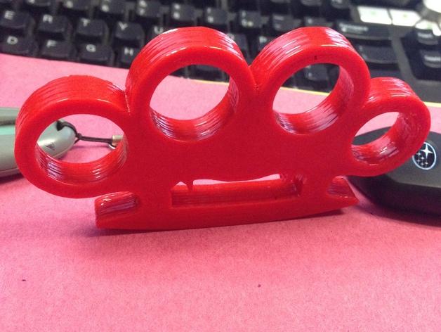 吸血鬼形压纸器 3D打印模型渲染图