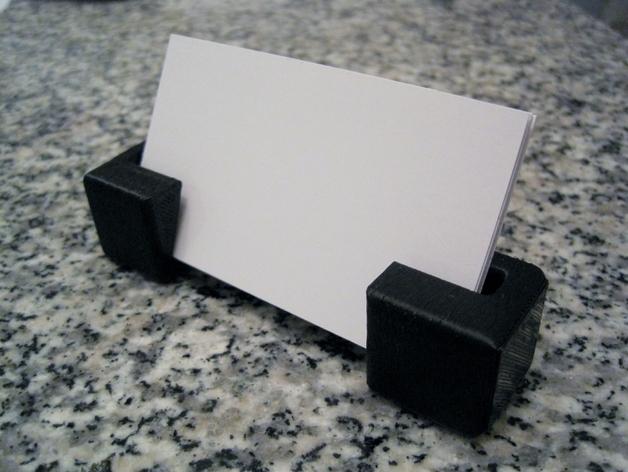 名片夹 3D打印模型渲染图