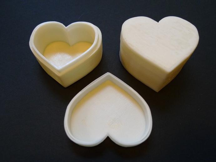 心形储物盒