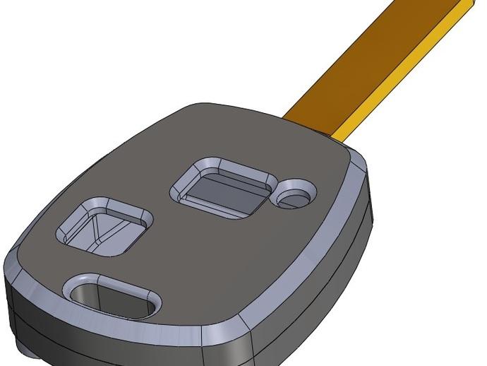 丰田钥匙盒 -- 远程按钮