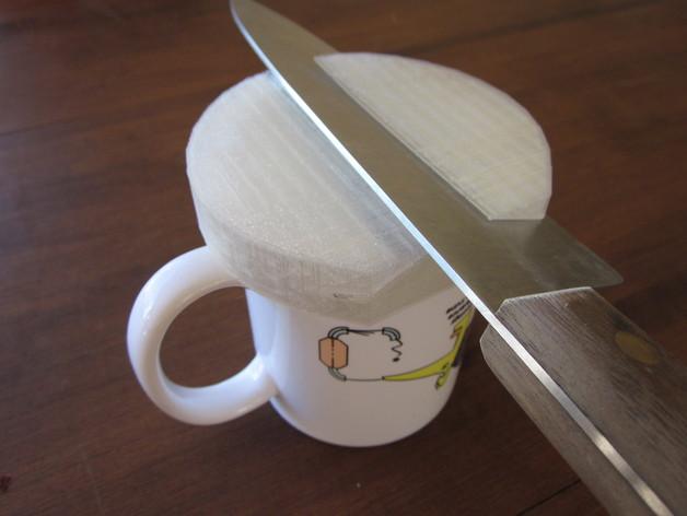 圆形磨刀器 3D打印模型渲染图