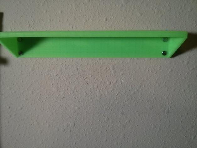 简易壁挂式工具架
