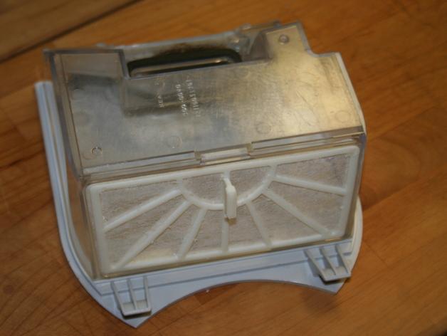 Neato机器人吸尘器过滤器 3D打印模型渲染图