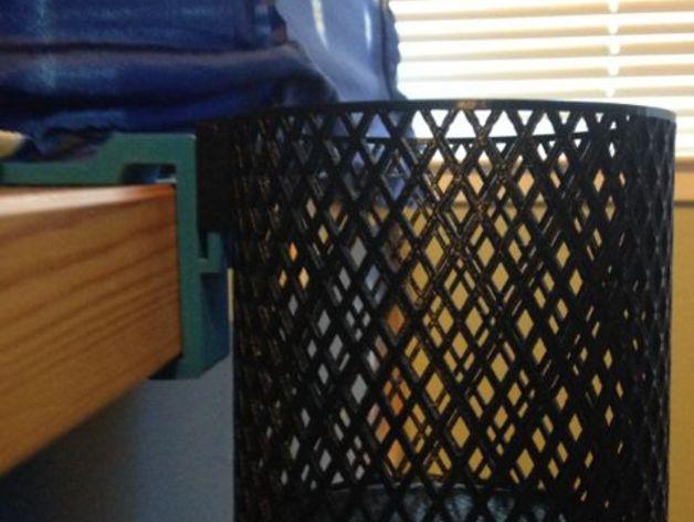 宜家Kura床夹式篮子