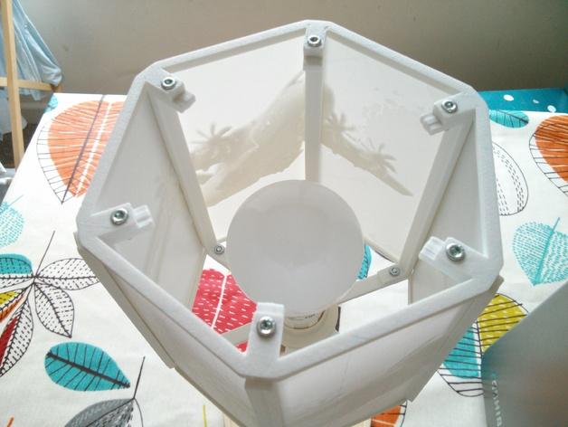 透光浮雕灯罩