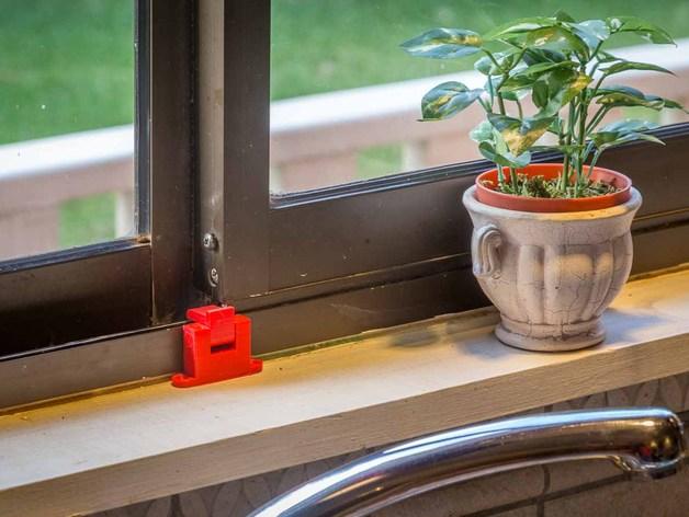厨房窗锁 3D打印模型渲染图