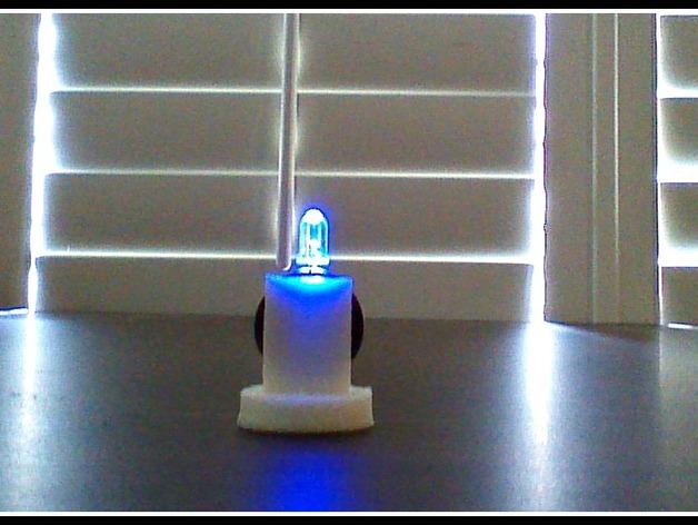 LED配适器 3D打印模型渲染图