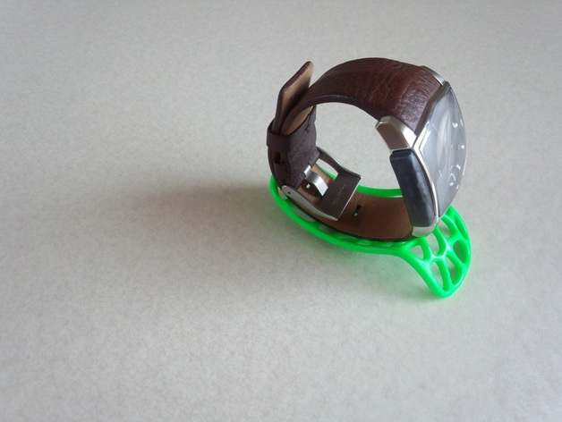 泰森多边形智能底座 3D打印模型渲染图