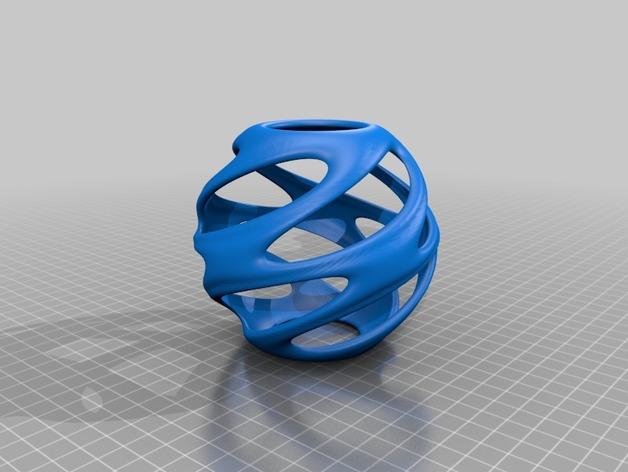 迷你螺旋结构装饰品