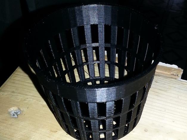 水培系统净锅 3D打印模型渲染图