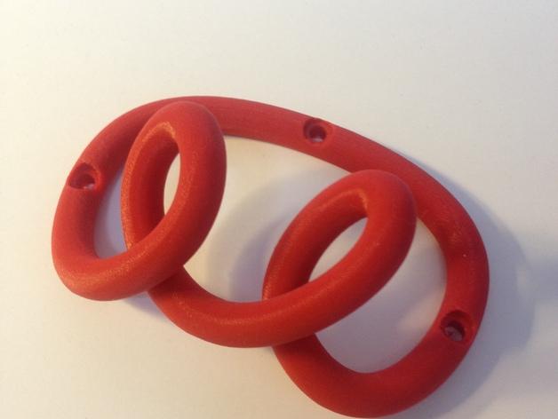 环形挂钩004 3D打印模型渲染图