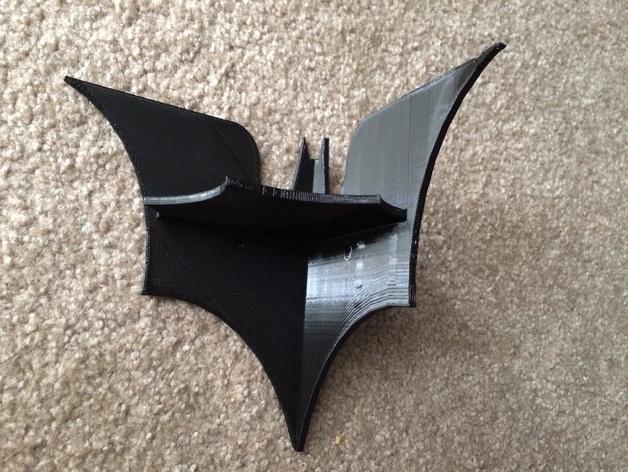 迷你蝙蝠形搁板 3D打印模型渲染图