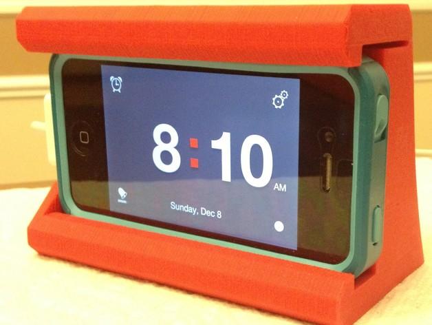 IPHONE 4/4S手机套 3D打印模型渲染图