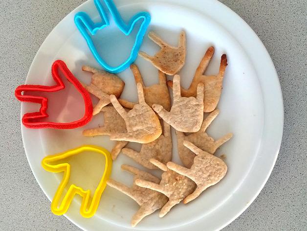 手势形饼干模具切割刀