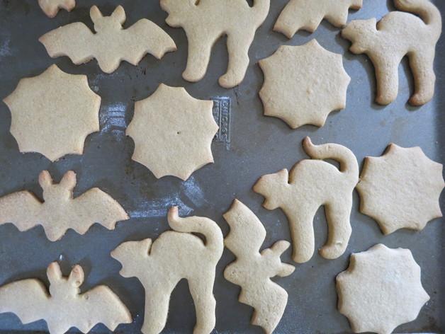 万圣节饼干模具切割刀 3D打印模型渲染图