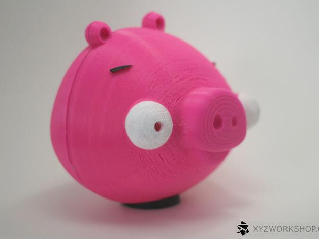 愤怒的小鸟小猪存钱罐