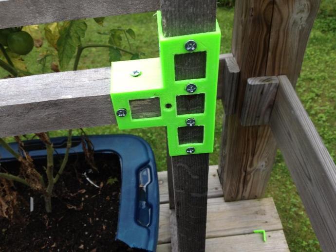 花园木桩支架
