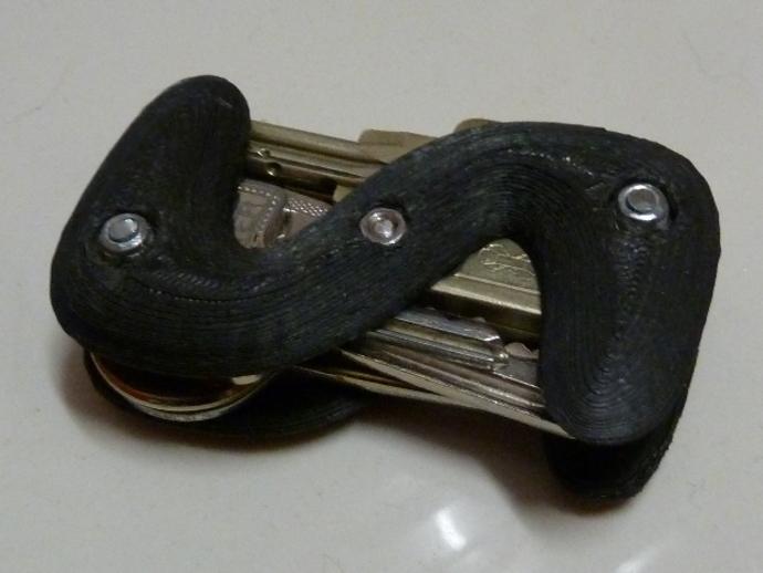 S形钥匙圈