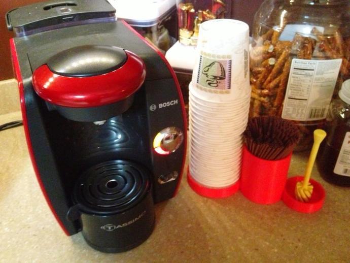 多功能咖啡架 3D打印模型渲染图