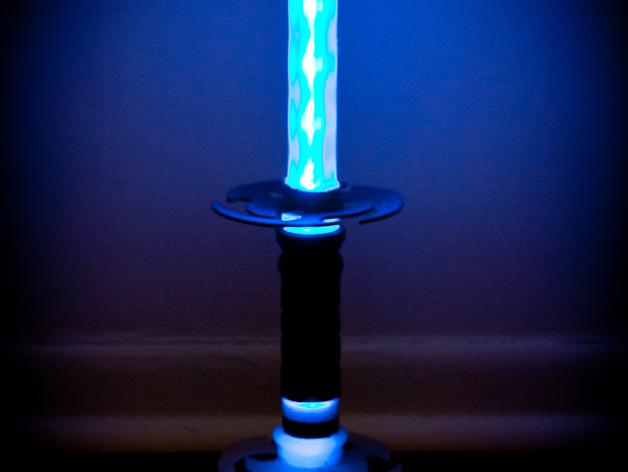 迷你彩色LED灯 3D打印模型渲染图